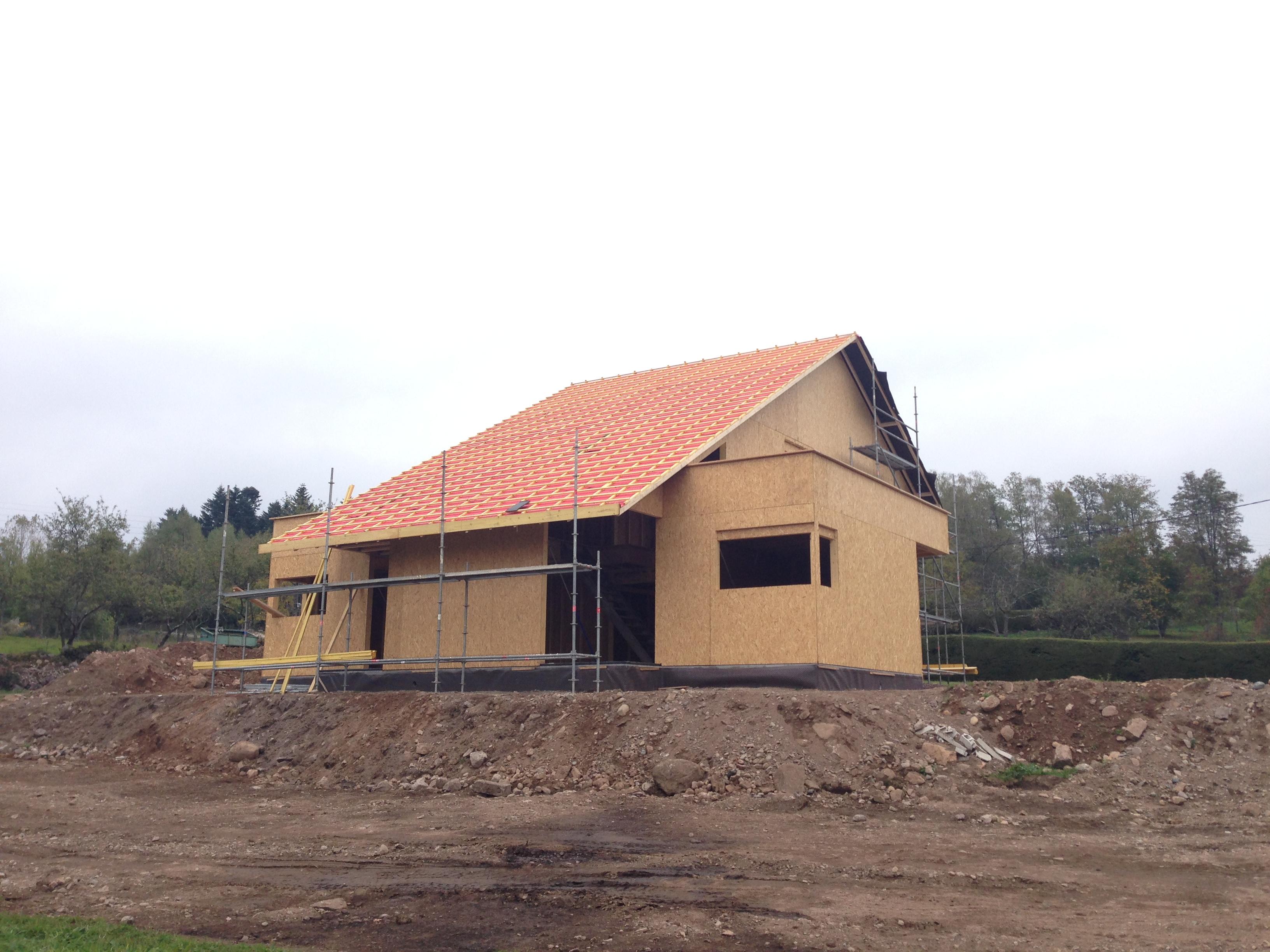 Maison ossature bois - Pinot 3d - Durand