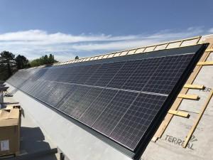 Panneaux photovoltaïques en intégration